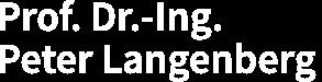 Prof. Dr.-Ing. Peter Langenberg Logo